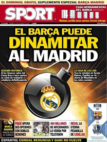 dinamitar al madrid
