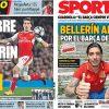 2017年6月6日(火)のバルセロナスポーツ紙:ベジェリン
