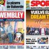 2017年6月10日(土)のバルセロナスポーツ紙:ウェンブレイ25周年