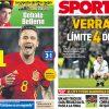 2017年6月28日のバルセロナスポーツ紙:サウール輝く