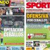 2017年7月02日(日)のバルセロナスポーツ紙:セバージョス獲得作戦