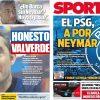 2017年7月18日(火)のバルセロナスポーツ紙:ネイマールにPSGの影