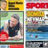 2017年7月19日(水)のバルセロナスポーツ紙:ネイマール騒動2017