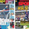 2017年7月23日(日)のバルセロナスポーツ紙:ネイマールSHOW