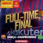 マッチデータ|ガンペル杯 シャペコエンセ戦 5-0