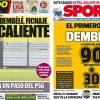 2017年8月11日(金)のバルセロナスポーツ紙:デンベレが熱い。火傷しそう