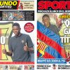 2017年8月28日(月)のバルセロナスポーツ紙:デンベレがやってきて、マドリーは取りこぼし