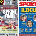 2017年8月31日(木)のバルセロナスポーツ紙:移籍マーケット閉幕近づく