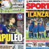 >2017年9月10日(日)のバルセロナスポーツ紙:バルサ勝ち、マドリーよろめく