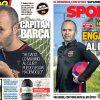 2017年10月13日(金)のバルセロナスポーツ紙:イニエスタ語る