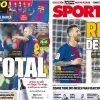 2017年11月04日(土)のバルセロナスポーツ紙:歴史的メッシとバルサの挑戦