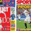2017年11月07日(火)のバルセロナスポーツ紙:セントラル補強、DE LIGTとラングレ