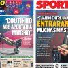 2017年11月08日(水)のバルセロナスポーツ紙:スアレス・インタビュー