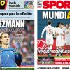 2017年11月15日(水)のバルセロナスポーツ紙:グリエスマンと口約束