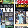2017年11月20日(月)のバルセロナスポーツ紙:首位を快走するバルサ