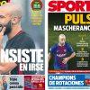 2017年12月05日(火)のバルセロナスポーツ紙:マスチェ問題 燃え広がる