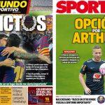 2017年12月08日(金)のバルセロナスポーツ紙:マスチェの告白
