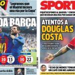 2017年6月7日(水)のバルセロナスポーツ紙:ピケがマドリーに返答