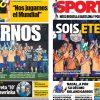2017年6月11日(日)のバルセロナスポーツ紙:ドリームチームは永遠なり