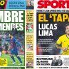 2017年6月21日(水)のバルセロナスポーツ紙:中盤選手たちのウワサ話