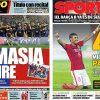 2017年6月26日(月)のバルセロナスポーツ紙:バルサB、セグンダへ昇格!