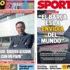 2017年7月07日(金)のバルセロナスポーツ紙:バルトメウ 説明する