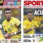 2017年7月09日(日)のバルセロナスポーツ紙:パウリーニョ間近?