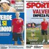 2017年7月12日(水)のバルセロナスポーツ紙:バルベルデ始動