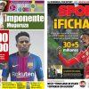 2017年7月14日(金)のバルセロナスポーツ紙:セメド獲得!