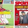 2017年7月20日(木)のバルセロナスポーツ紙:ネイマール騒動 鎮火せず