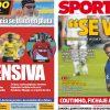 2017年7月31日(月)のバルセロナスポーツ紙:ネイは去る。次へ行こう