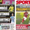 2017年8月06日(日)のバルセロナスポーツ紙:トリプル契約+パウリーニョ+セリ!?
