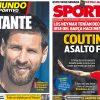 2017年8月07日(月)のバルセロナスポーツ紙:徐々に近づくシーズン開幕