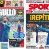 2017年8月16日(水)のバルセロナスポーツ紙:目指せベルナベウでの逆転