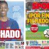 2017年8月25日(金)のバルセロナスポーツ紙:デンベレ獲得!