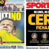 2017年9月02日(土)のバルセロナスポーツ紙:マーケットが閉じ、結局 誰も来ず