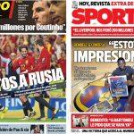 2017年9月03日(日)のバルセロナスポーツ紙:強化部が失敗理由を説明