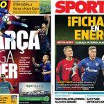 2017年10月17日(火)のバルセロナスポーツ紙:全プロスポーツ部門でリーグ首位!