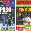 2017年11月02日(木)のバルセロナスポーツ紙:マドリーに暗雲