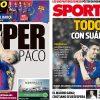 2017年11月06日(月)のバルセロナスポーツ紙:陽の当たるアルカセル