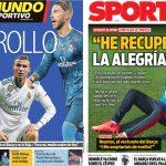 2017年11月10日(金)のバルセロナスポーツ紙:ラモスがCR7に反論