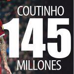 コウチーニョ獲得に必要なのは、1億5,000万ユーロの資金だけではない