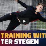 デンベレが復帰へ加速、テル・ステーゲンは(大事を取って?)個別練習