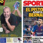 2017年12月21日(木)のバルセロナスポーツ紙:ベルナベウクラシコまであと2日