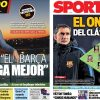 2017年12月22日(金)のバルセロナスポーツ紙:ベルナベウクラシコまであと1日