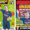 2018年1月09日(火)のバルセロナスポーツ紙:コウチーニョ、バルサ入団で笑顔満面