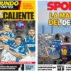 2018年1月17日(水)のバルセロナスポーツ紙:コパ・ダービー