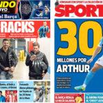 2018年1月31日(水)のバルセロナスポーツ紙:夏にさらなる補強