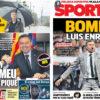 2018年2月07日(水)のバルセロナスポーツ紙:ピケ問題とルーチョ