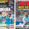 2018年2月18日(日)のバルセロナスポーツ紙:イプルア攻略、さあ次はチェルシー